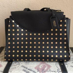 Kate Spade Gold Polka-Dot Handbag